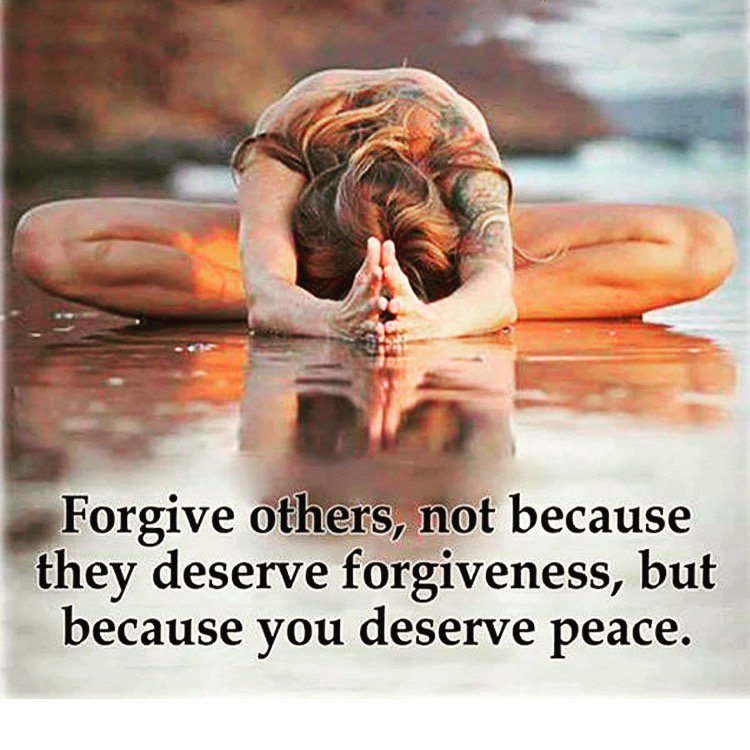 Embracingmyself On Twitter Forgive Others Not Because They
