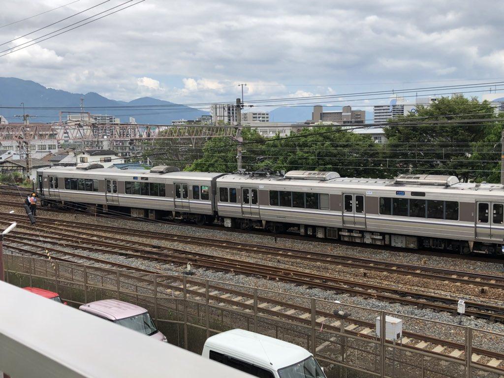 琵琶湖線の膳所駅で人身事故の現場画像