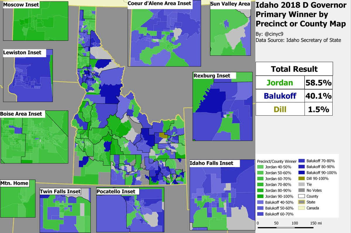 Cinyc On Twitter Heres The Precinct Map Of The Democratic Gov
