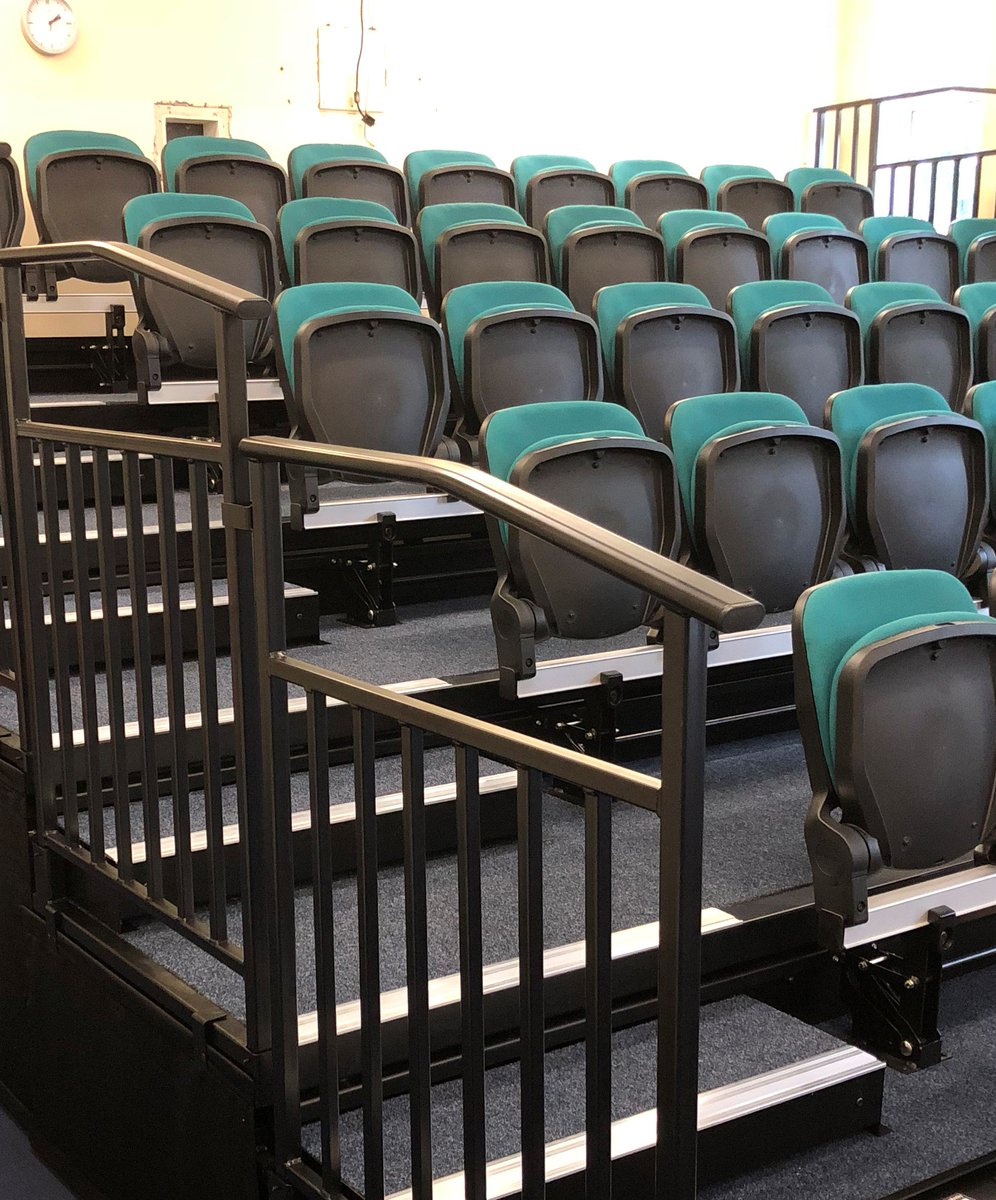 Hussey Seatway on Twitter  View a new installation we completed last week with the #SeatwayTP platform #Centura chair and 45 matching #Stax portable ... & Hussey Seatway on Twitter: