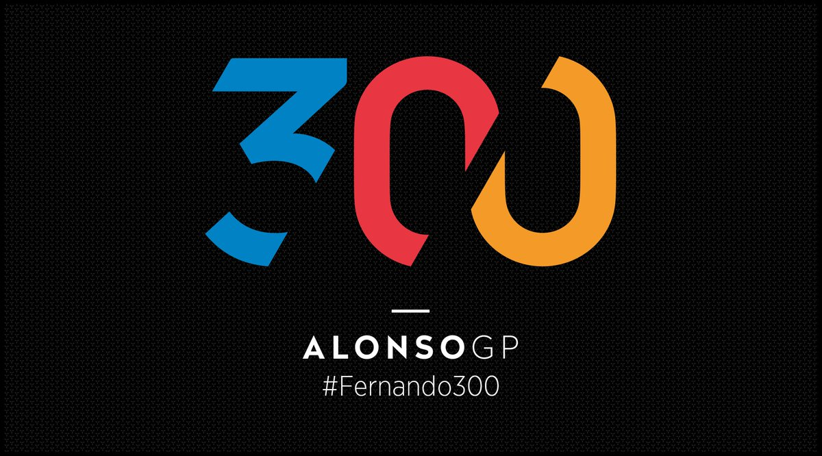 This weekend's #CanadianGP marks 300 GP appearances for . 🙌 Share your message of support for our our very own Spanish Samurai by using  and you cou#Fernando300ld feature on our social wall:   💬https://t.co/LLk0Cfxune