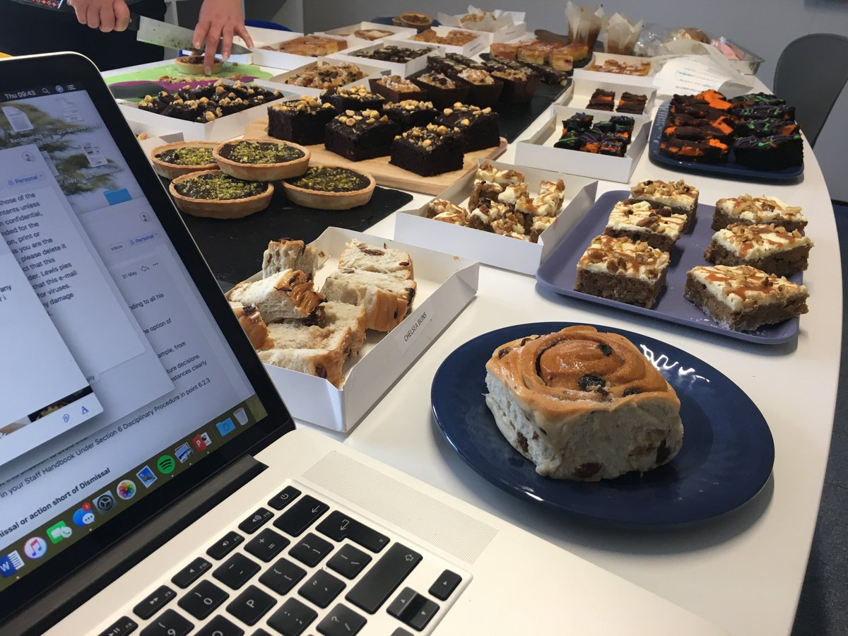 test Twitter Media - imagine this was the view from your desk! #tasting #cakes https://t.co/116UBThCd1