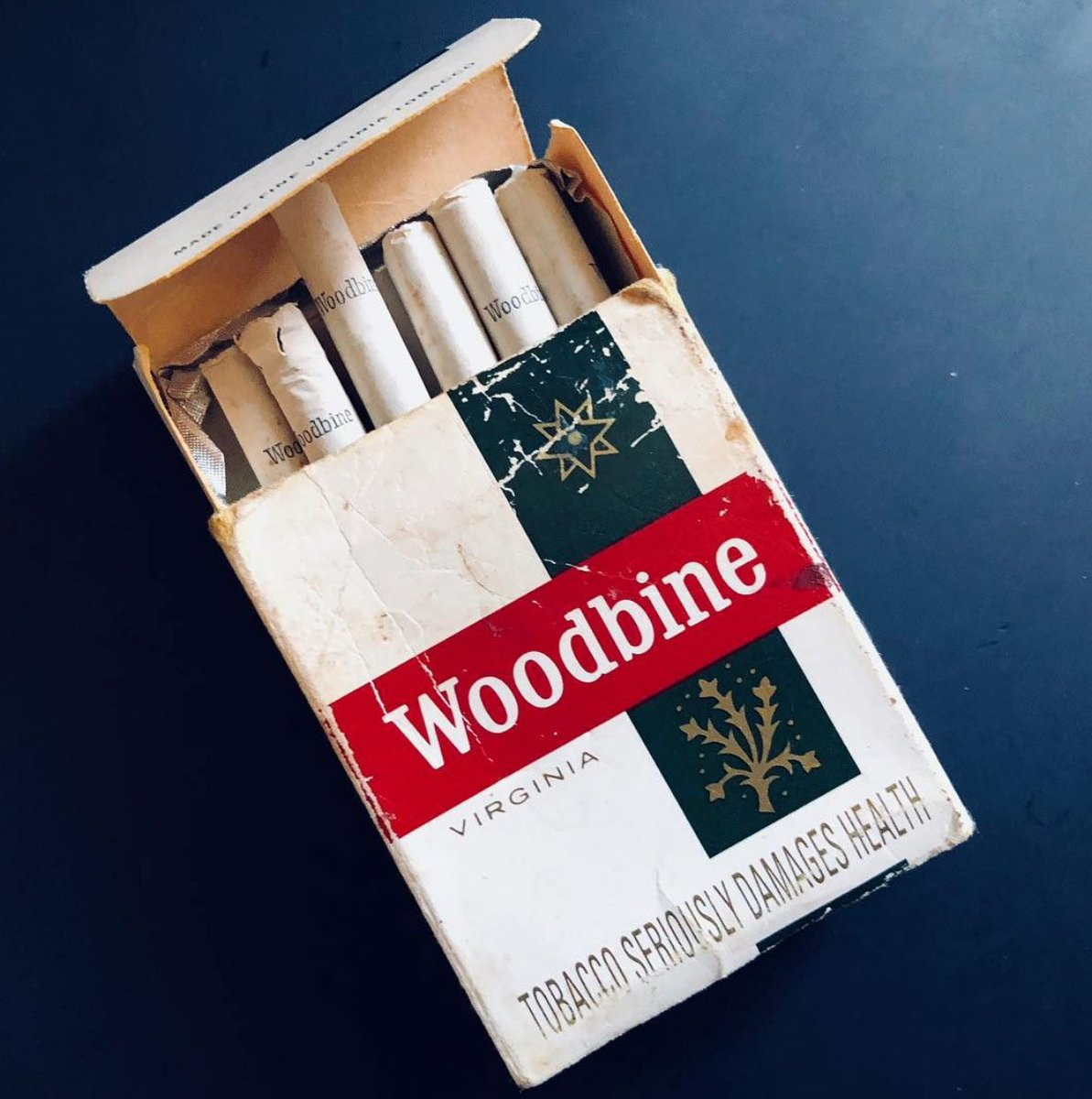 "Brian Cannon / Microdot on Twitter: ""Another incredible piece of #Oasis  memorabilia found in my Dads house. The packet of Woodbine cigarettes  photographed on the desk he was using on the sleeve"