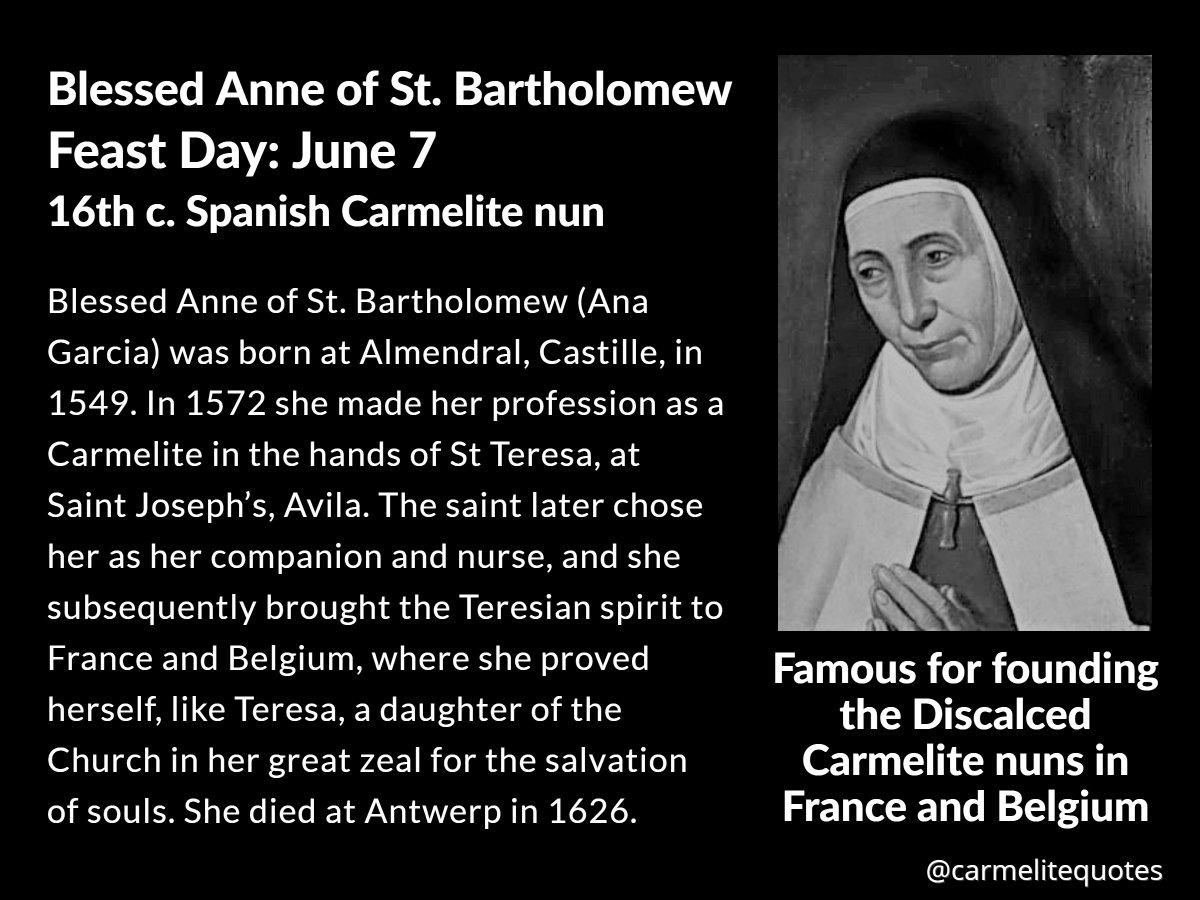 Carmelite Quotes on Twitter:
