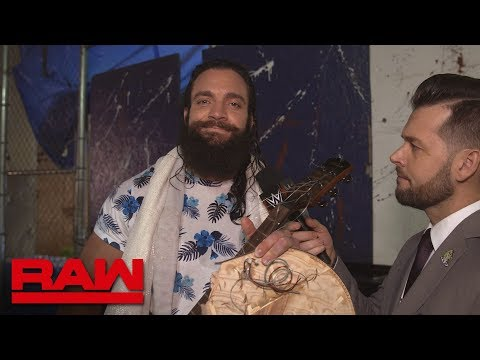 Elias wishes Seth Rollins a Happy Birthday : Raw Exclusive, May 28, 2018
