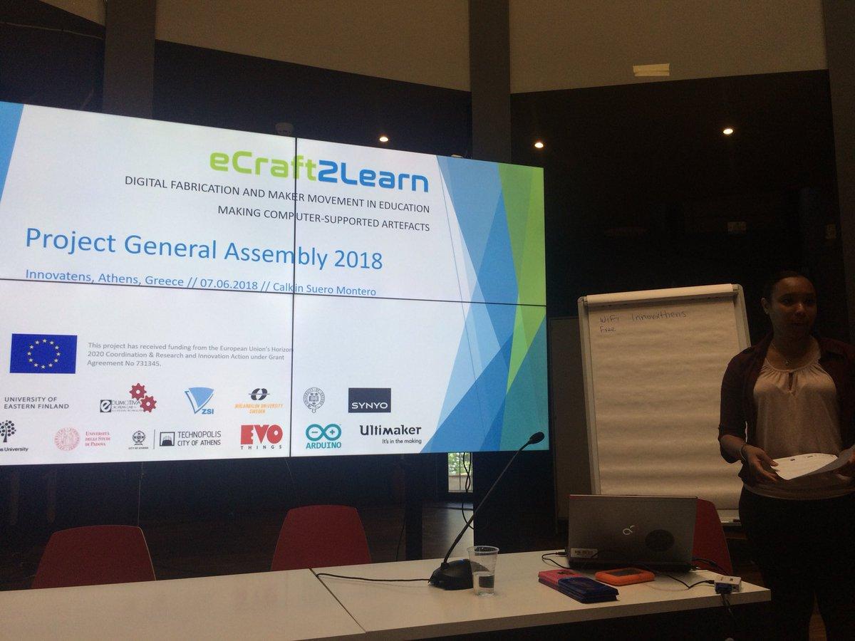 test Twitter Media - #eCraft2Learn General Assembly kicking off @InnovAthens in #Greece https://t.co/JQXouyDZkH
