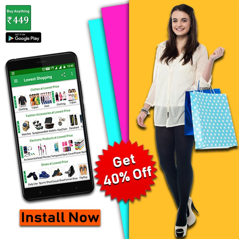 90cc98af674 Online Shopping Low Price App on Twitter