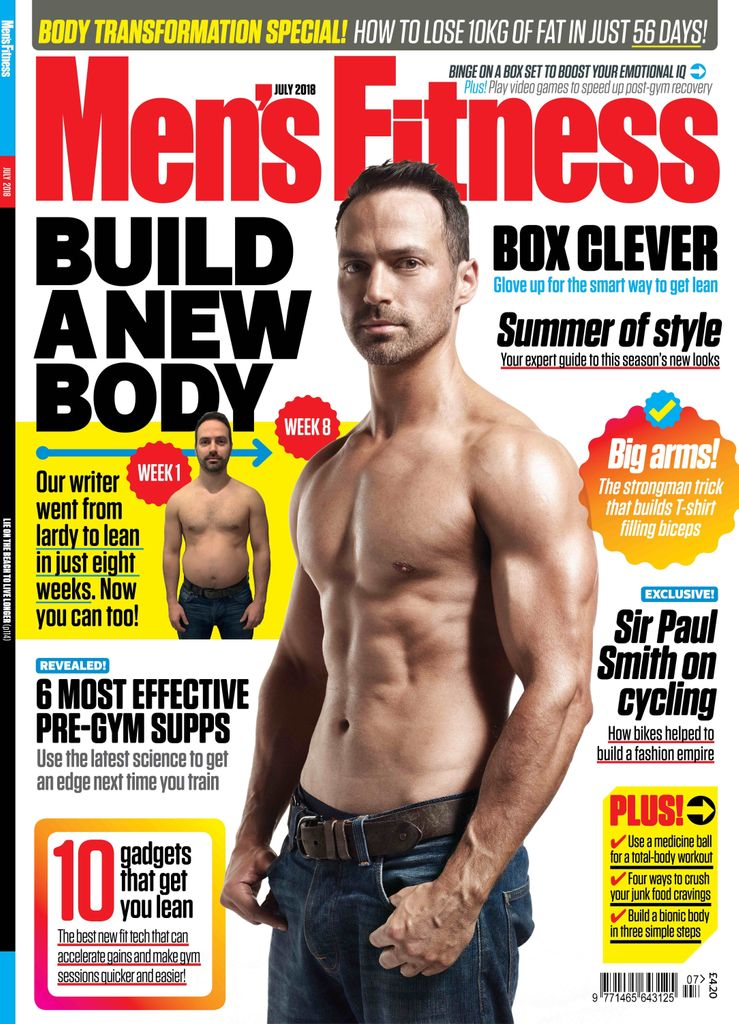 ef1e11c1d00 Find out how our editor-in-chief  JonLipseyMedia lost 10kg of fat in just  eight weeks to go from lardy to lean and become our latest cover star!