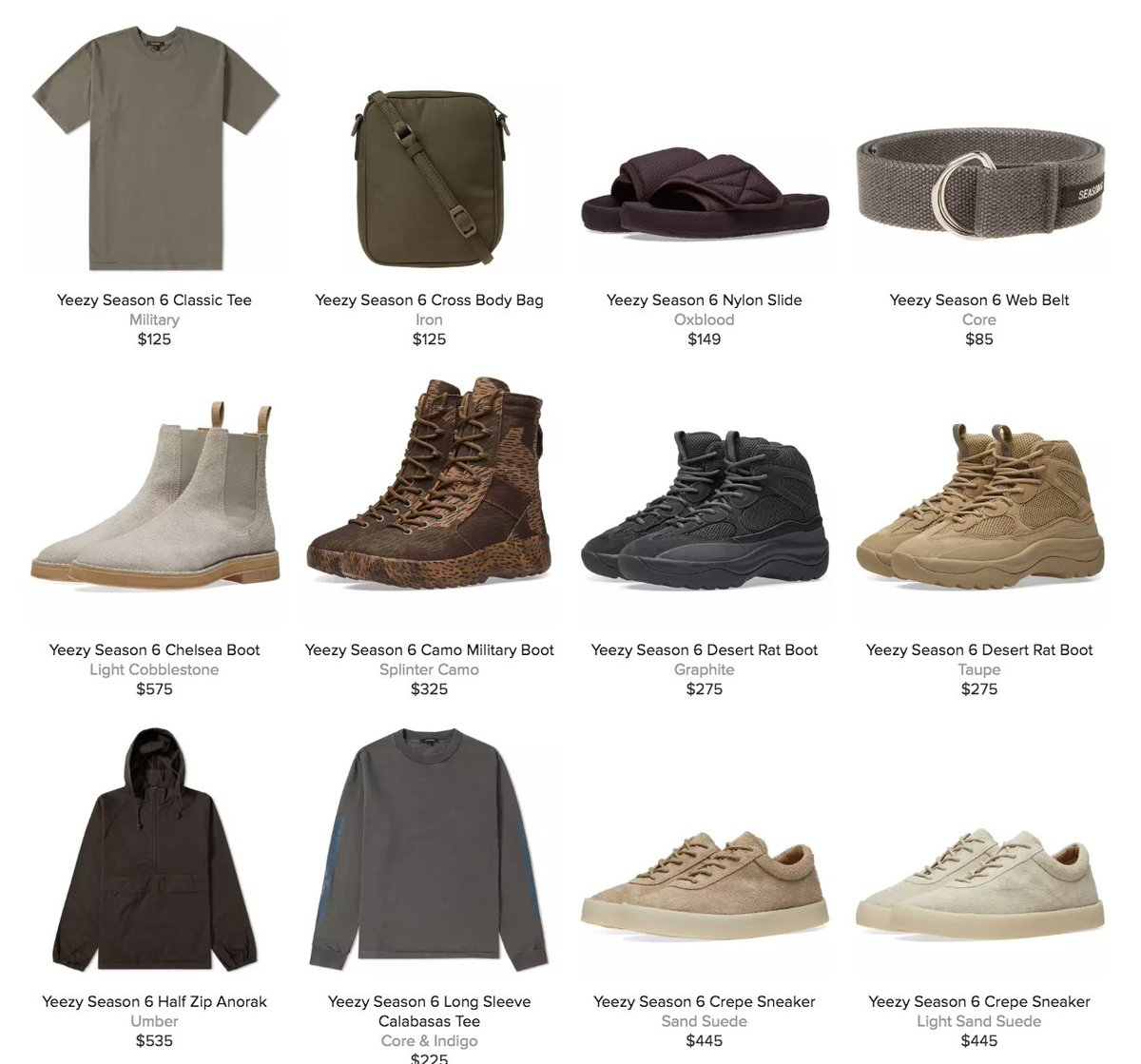 0eab8a21ed27c 25% off Yeezy Season 6 Collection with code VIPSALE at checkout     http   bit.ly 2kRO6sK pic.twitter.com yLbb9T6X2t