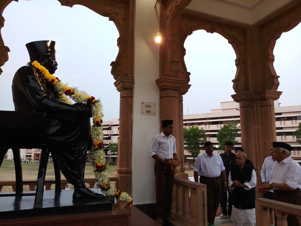 Live: Pranab Mukherjee at RSS function in Nagpur