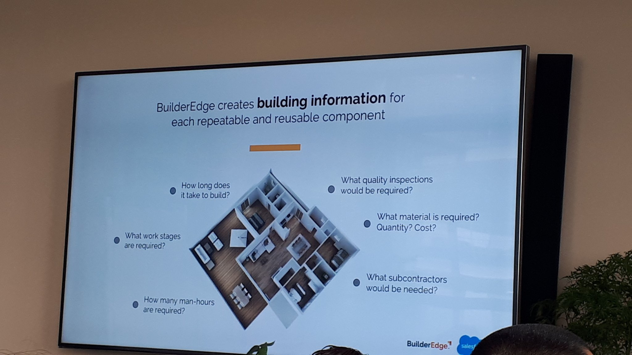 BuilderEdge reusing building information