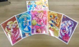 【アニメージュ7月号/6月9日(土)発売】付録は『HUGっと!プリキュア』B5サイズクリアシート5枚セット。川村敏江さん作画のイラストで、プリキュア5人がそれぞれ1枚ずつ。みんなとっても華やかです! #precure