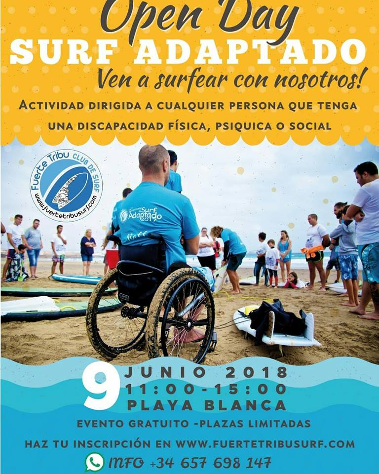 Open Day de Surf  Adaptado