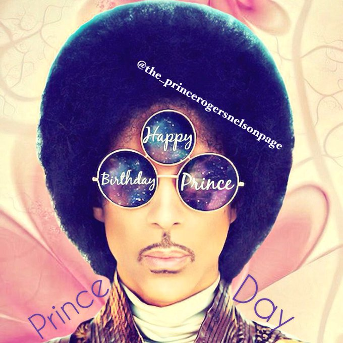 Happy 60th birthday prince!     I love you so much