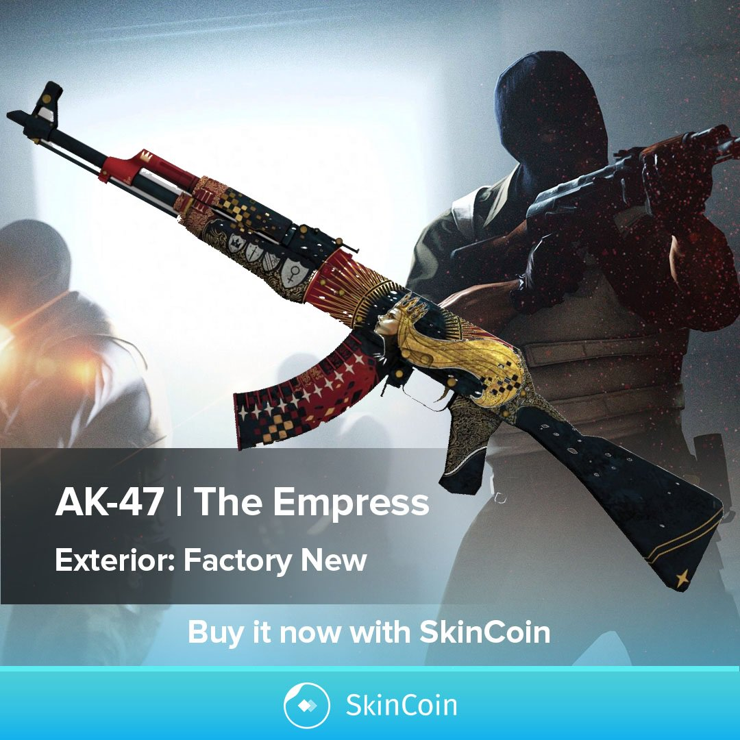 Skincoin On Twitter Powerful And Reliable The Ak 47 Is One Of