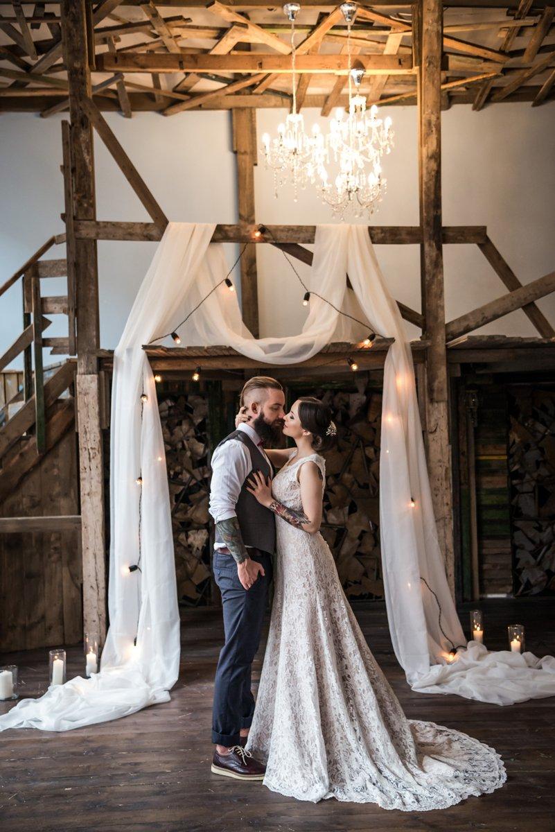 Свадебный букет с орхидеей фото