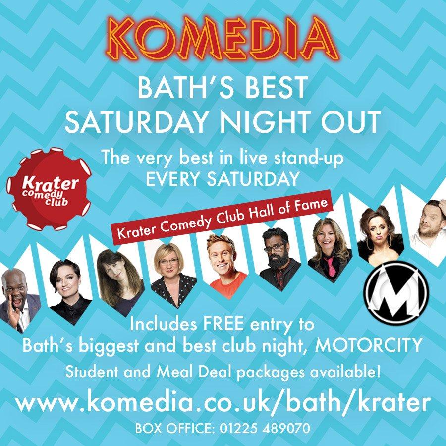 Komedia Bath on Twitter: