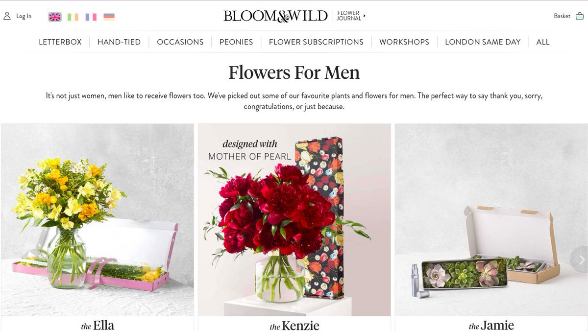Katie deighton on twitter marketer 1 our sales are stalling we m1 but flowers are for sissies brad men will never want them m2 not if we rebrand them for menpicittermevbbsqaij izmirmasajfo