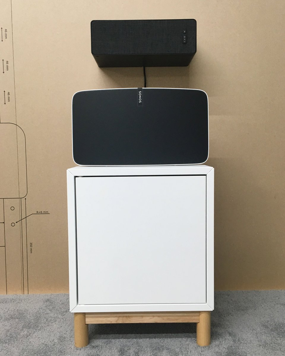 The Verge On Twitter These Are First Sonos Speakers Designed Whole Home Audio System 444 Am 7 Jun 2018