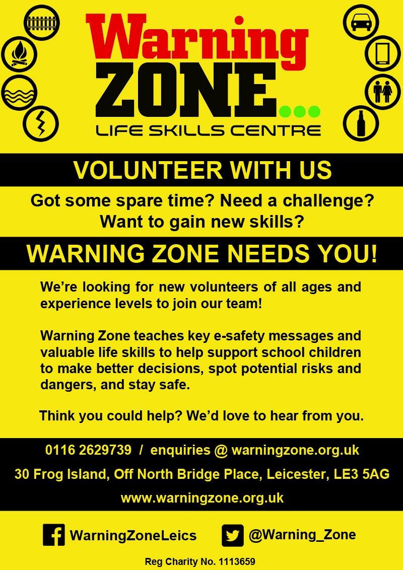 Warning Zone on Twitter: