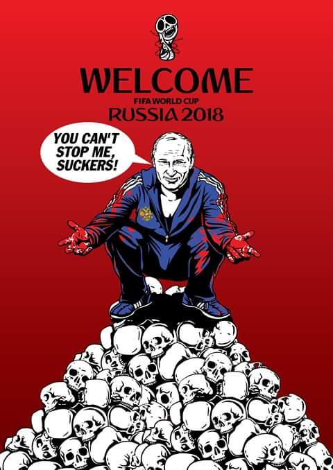 ФИФА показала неуважение к правам человека, выбрав Россию страной, принимающей ЧМ по футболу, но приехавшие туда фаны смогут узнать о забытых заключенных в российском ГУЛАГе, - Хармс - Цензор.НЕТ 9769