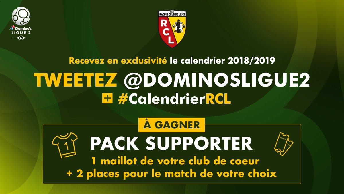 Calendrier Match Lens.Racing Club De Lens On Twitter Le Calendrier 2018 2019 Du