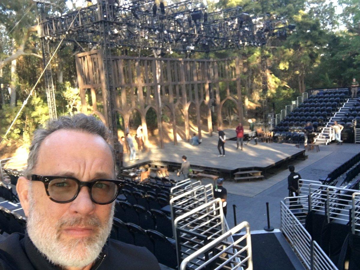 Lotta fights in Henry IV. Gotta practice every night. At the VA in LA through June. Shakespeare Center LA! Hanx!