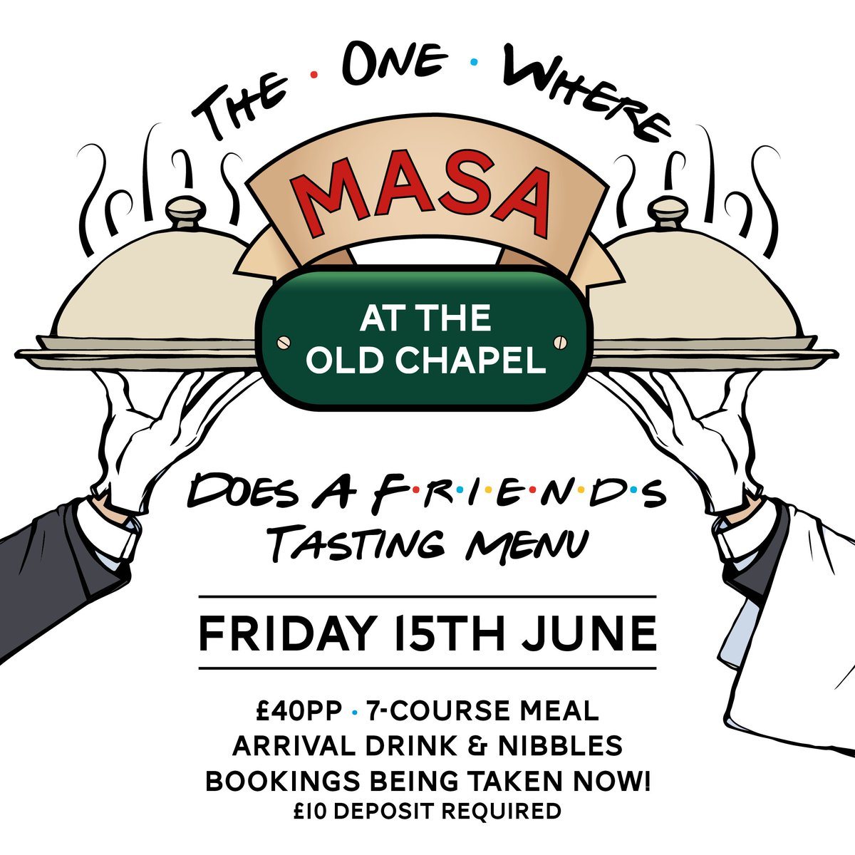 Limited availability for this incredible 7 course tasting menu. Book Now while you can!