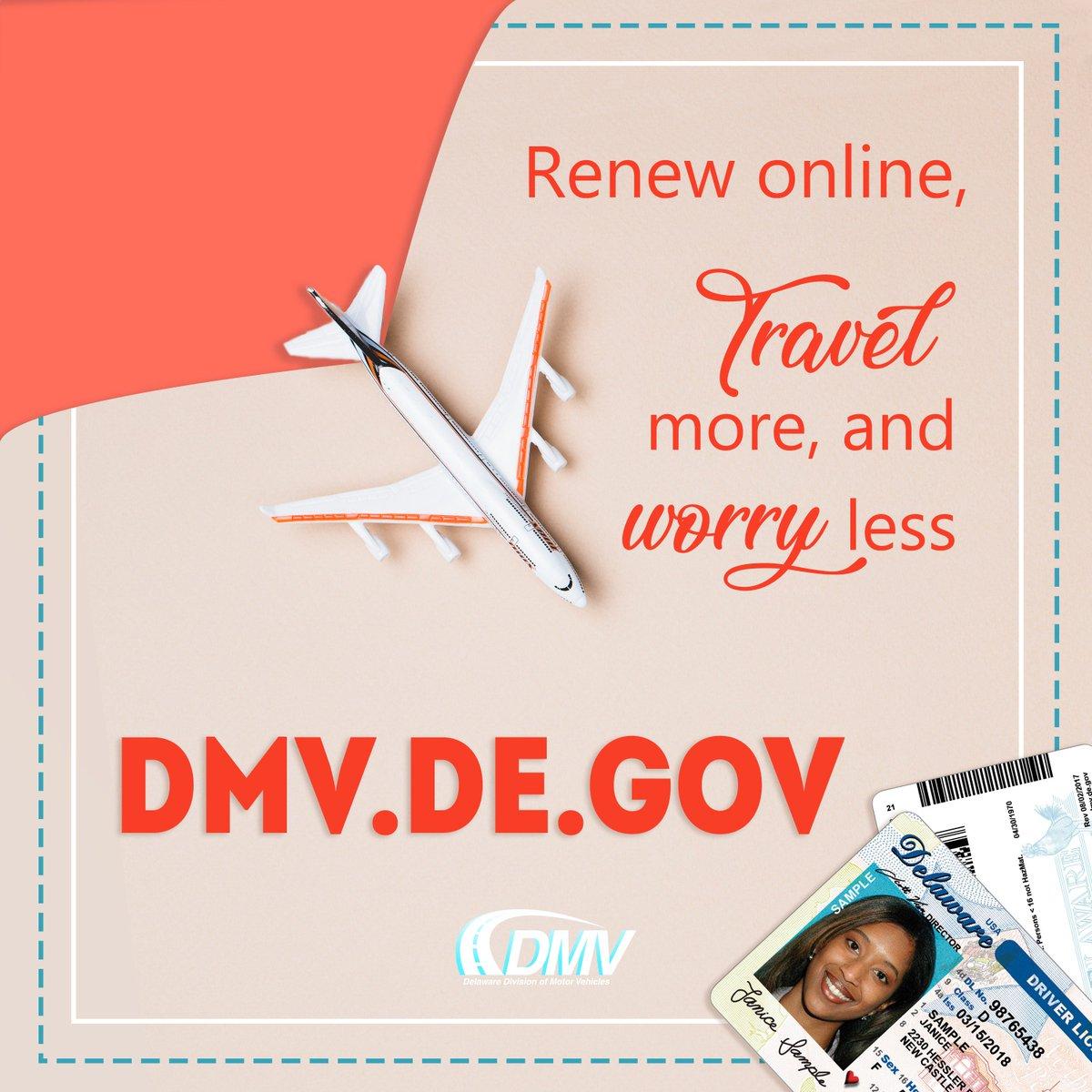delaware motor vehicle drivers license renewal