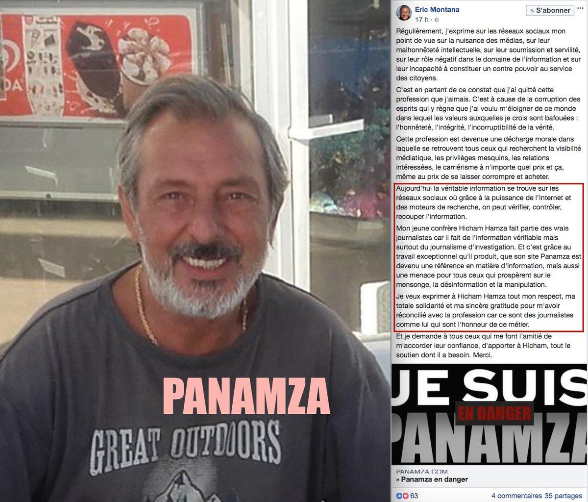 Eric Montana soutient Panamza. Et vous ?