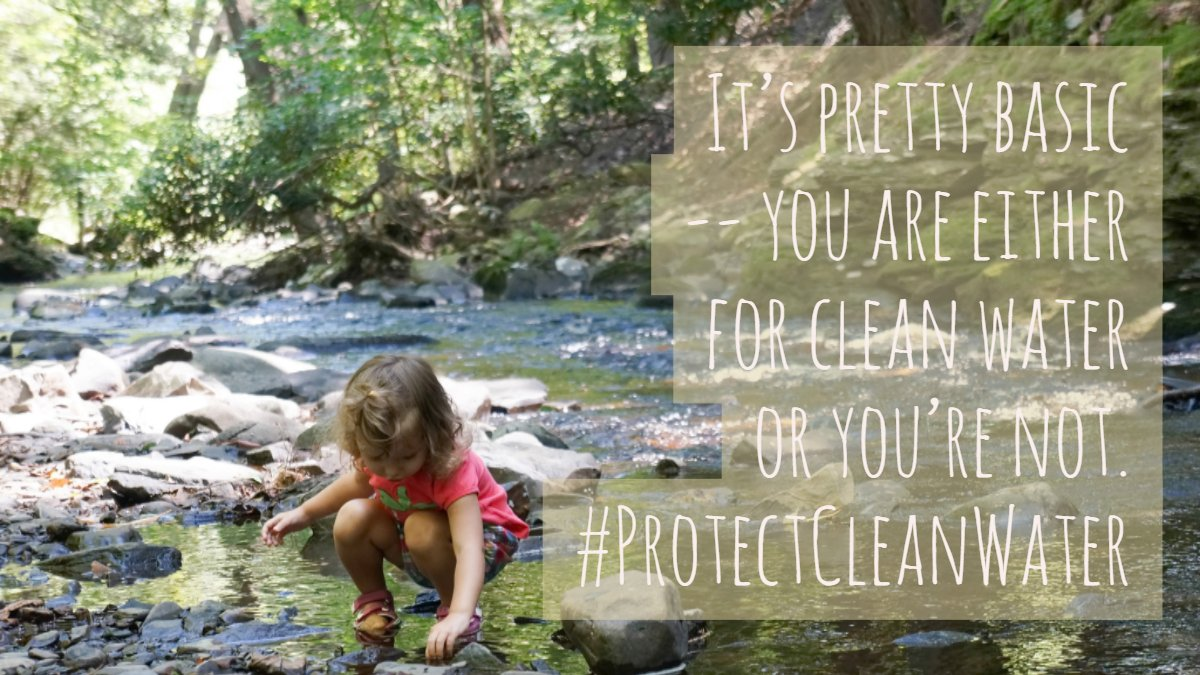 The extreme #DirtyWaterRider being considered by Congress will put #NationalParks at risk by repealing protections for streams, wetlands, and drinking water. RT to tell Congress to #ProtectCleanWater!<br>http://pic.twitter.com/K5ybHNdnSX
