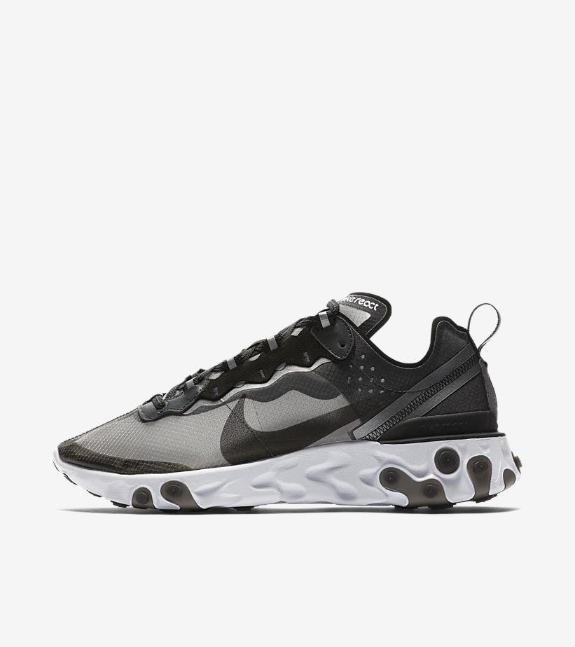 Official Images of Nike React Element 87  Black Anthracite  releasing on  June 14thpic.twitter.com qt2IqNaxKv 64ceafd34