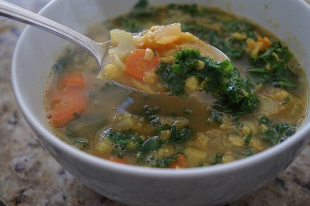 Kale and Lentil Soup https://t.co/tcB0YV99tl  #cooking #food https://t.co/PW1Hd6kLDS