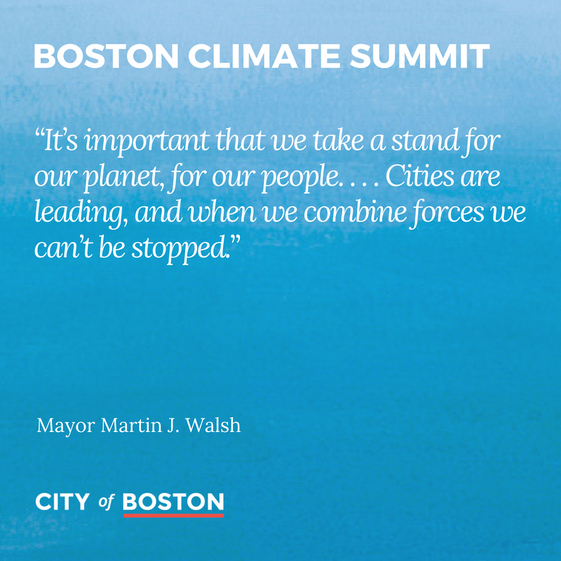 Boston and the UK are  leaders on climate action, with mayor of Cambridgeshire and Peterborough @MayorJPalmer representing our commitment to #ActOnClimate at today&#39;s #BostonClimateSummit.  Stream live online at:   http:// boston.gov/climatesummit  &nbsp;  <br>http://pic.twitter.com/99f5poFp4b