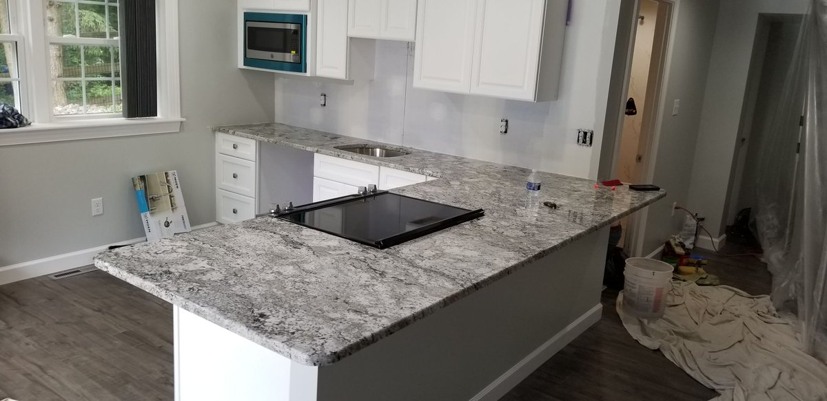 Goodfellas Granite On Twitter Taupe White Counters