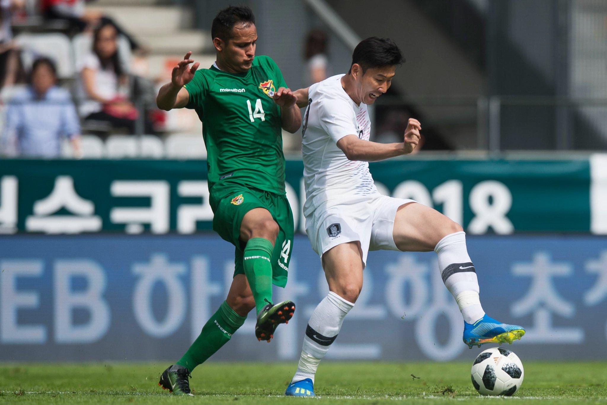 จืดชืด!! โสมขาว อุ่นแข้งเจ๊าโบลิเวีย 0-0 เตรียมพร้อมก่อนบอลโลก