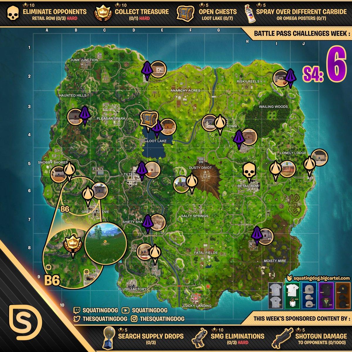 Week 6 Fortnite Cheat Map Fortnite Mobile Hack Ios Download