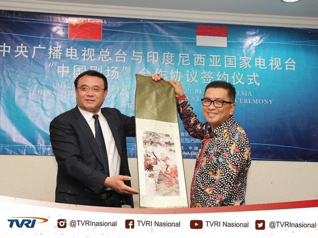 Tvri Nasional Sur Twitter Penandatanganan Mou Antara Tvri Dan China Media Group Kerjasama Ini Diwarnai Dengan Pemberian 58 Eps Film Seri Fly To The Skies Dan 52 Eps Cartoon Panda Panfare