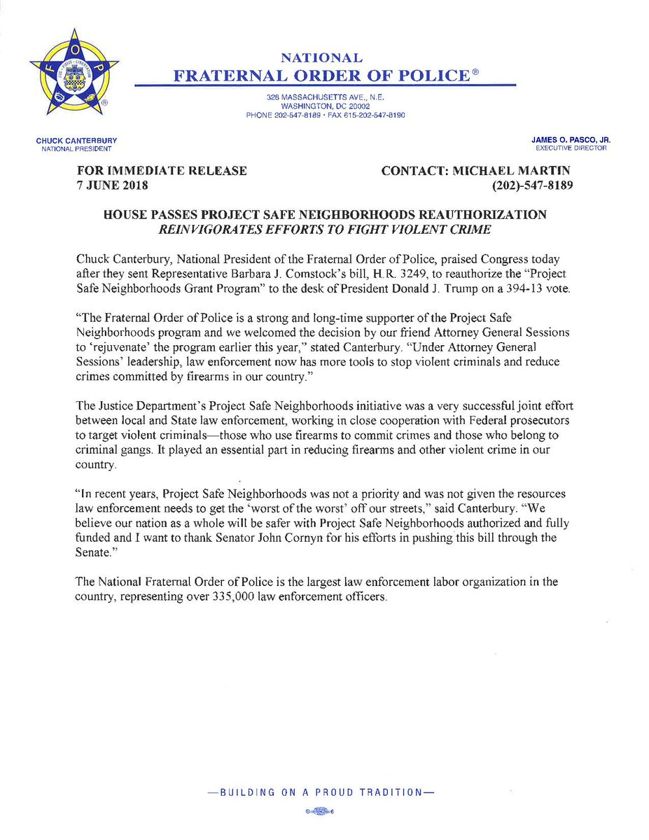 National FOP on Twitter: