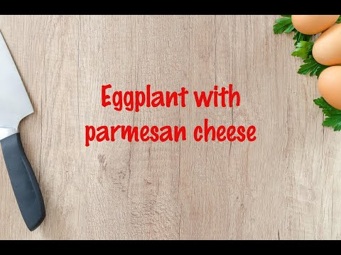 How to cook - Eggplant with parmesan cheese https://t.co/Umh3NMCVOw https://t.co/r6uDIecQ0j