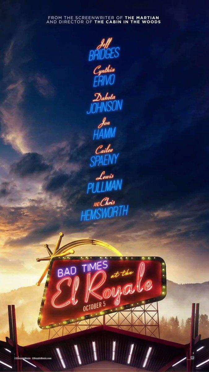 Bad Times at the El Royale (2018) | Chris Hemsworth, Jeff Bridges