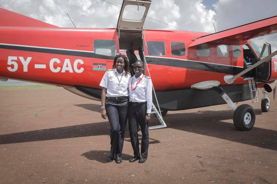 Rest In Peace Captain @BarbaraKamau and @JeanMuriithi - #flyhighercaptains  #Flight5YCAC #Fly540 #FlySax <br>http://pic.twitter.com/6hqZscZUI6