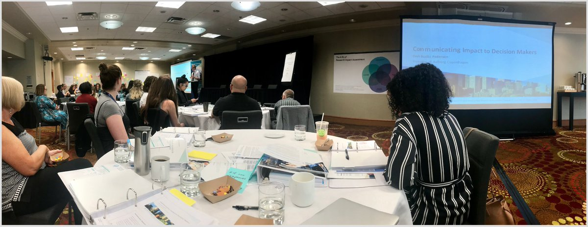 @humanomicsmap in Calgary discussing how to communicate #impact to decision makers. @ABInnovates #RIIA18 <br>http://pic.twitter.com/vIxDvKoydV