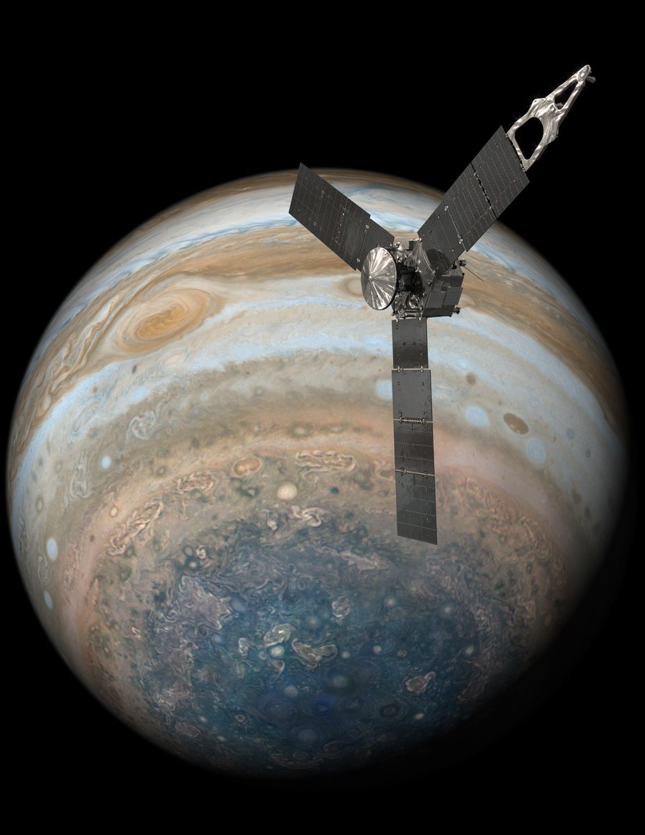 The Jovian science continues. @NASAJuno will orbit #Jupiter for three more years: https://t.co/nMQaAfNLf6