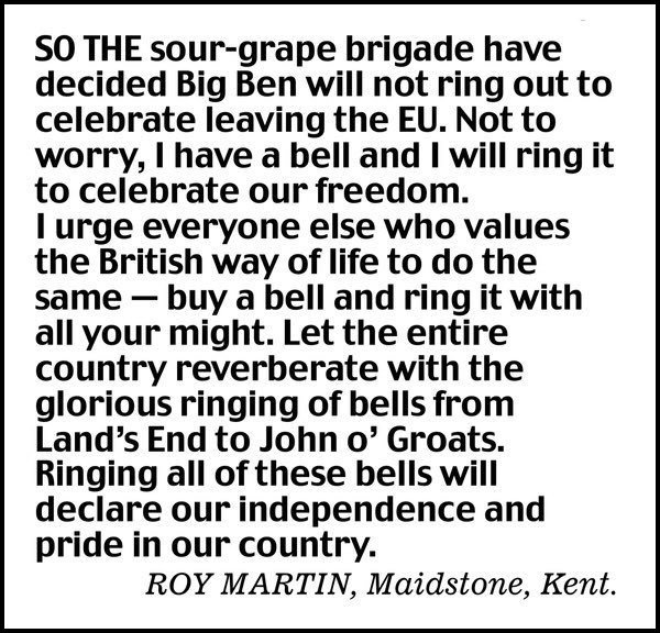 "RT @pointlesslettrs: ""I have a bell and I will ring..."