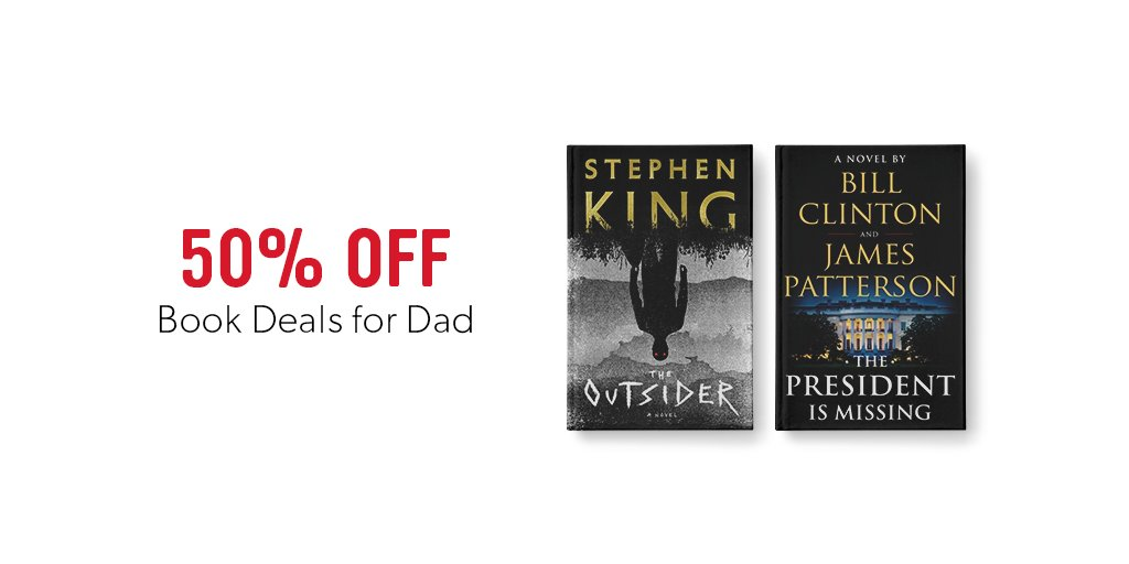 e8be6a40a2d5 Shop our Best Books for Father's Day and save 50% OFF! Online only. Offer  ends June 10. http://www.indig.ca/01mVsD pic.twitter.com/E1jJatsVBB