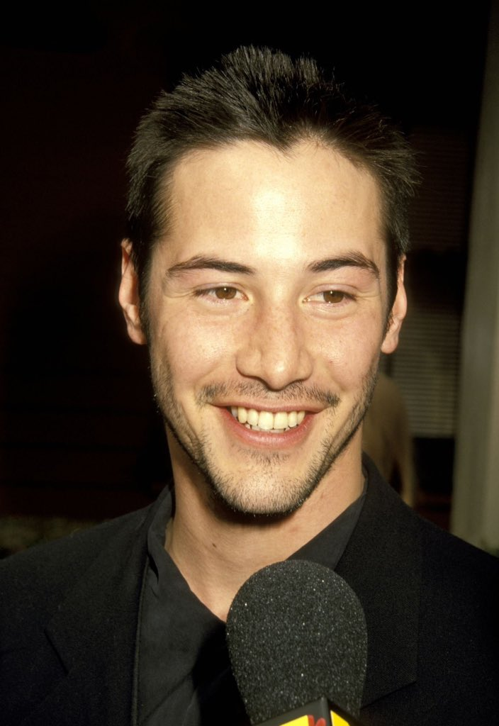 "keanu doing things on Twitter: ""keanu reeves being a 90s ..."