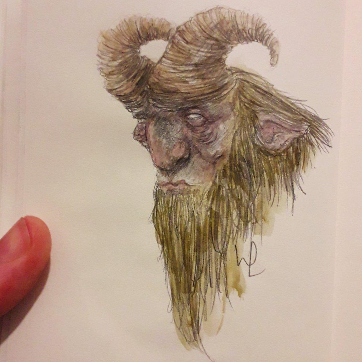 Goat Fantasy Art