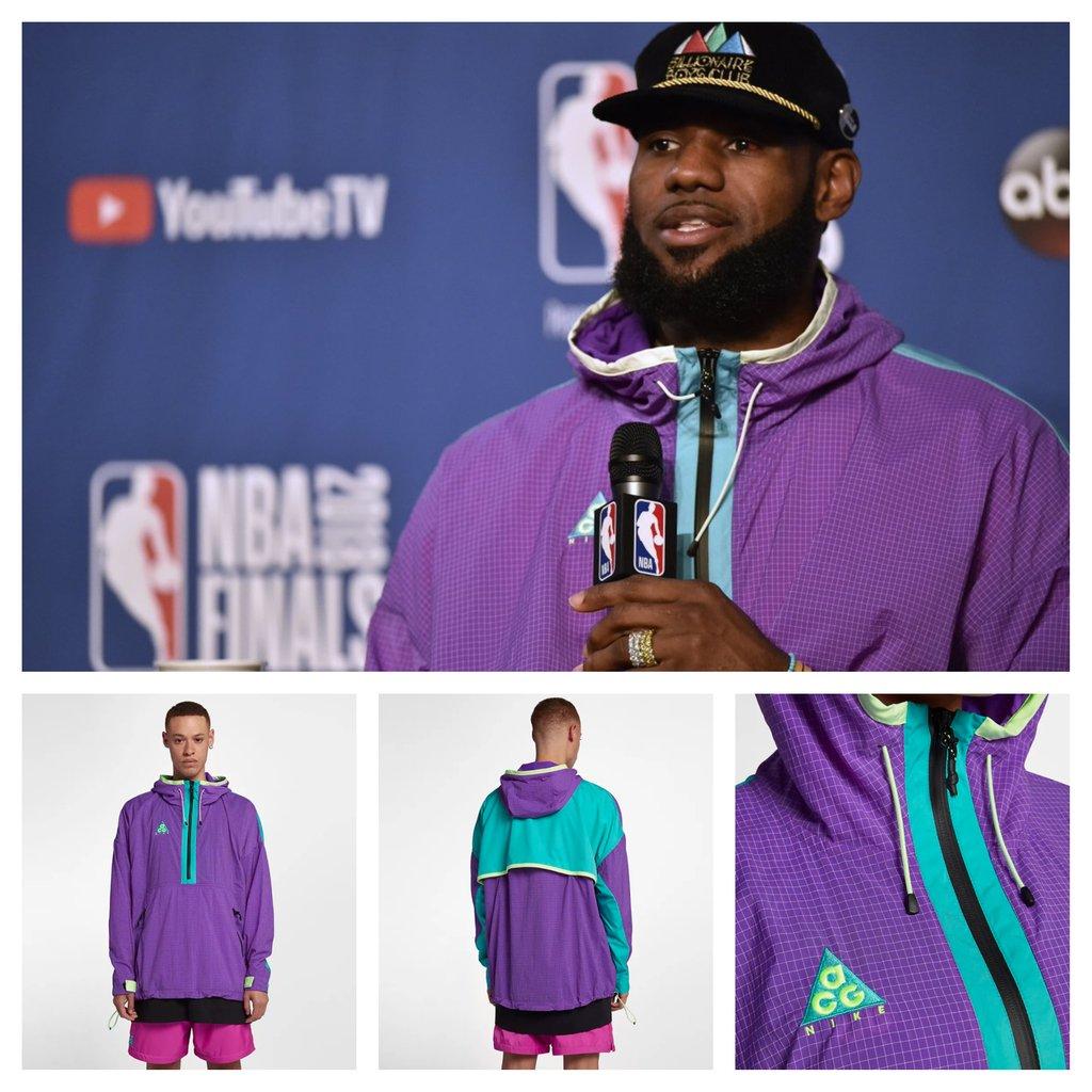 LeBron James rocked the Nike ACG Jacket
