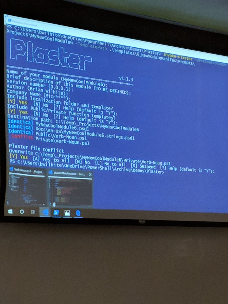 Julie Andreacola On Twitter Learning The Powershell Plaster Is